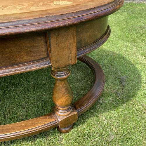 Large Oval Coffee Table image-5