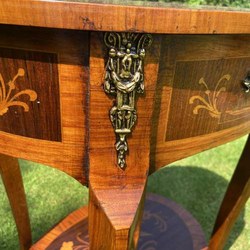 Decorative French Style Two Tier table image-5