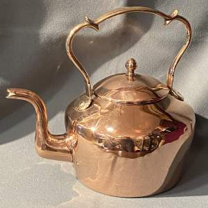 William IV Period Copper Kettle