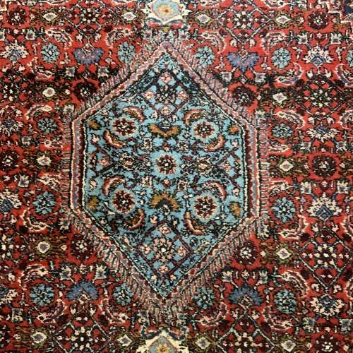 Superb Old Hand Knotted Persian Rug Bidjar With Abrash image-3