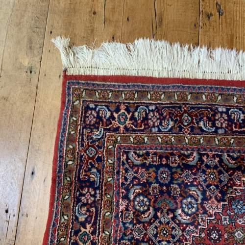 Superb Old Hand Knotted Persian Rug Bidjar With Abrash image-5