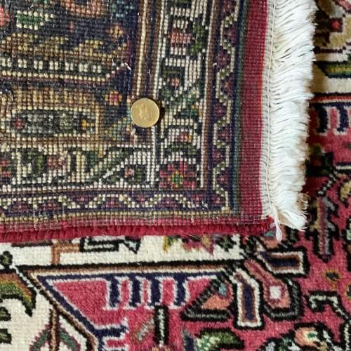 Superb Old Hand Knotted Persian Rug Bidjar With Abrash image-6