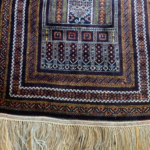 Superb Quality Hand Knotted Tchichaktu Baluch Prayer Rug image-2