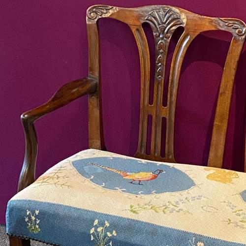 Victorian Mahogany Framed Double Back Settee image-2
