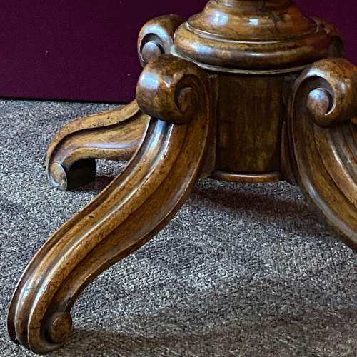 French Marble Top Gueridon Table image-4