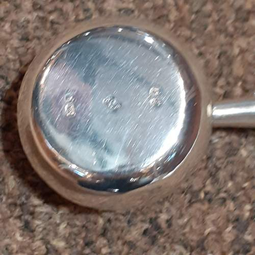 Victorian Antique Sterling Silver Brandy Warmer London 1860 image-4