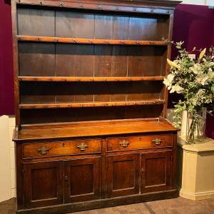 Georgian Country Oak Dresser