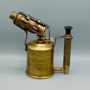 Vintage Sievert Brass Blow Torch