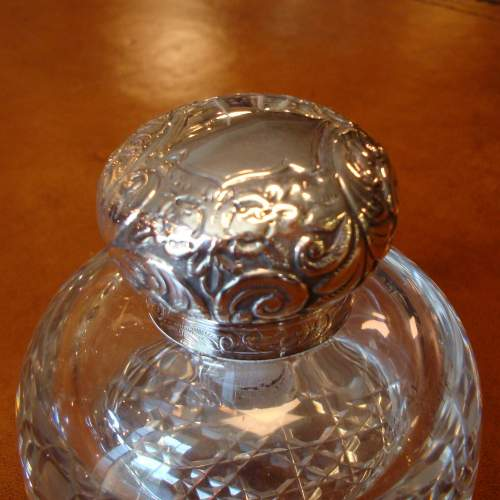 Victorian Silver Top Inkwell image-4