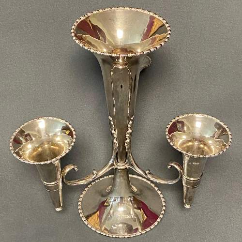Early 20th Century Silver Epergne Table Centrepiece image-2
