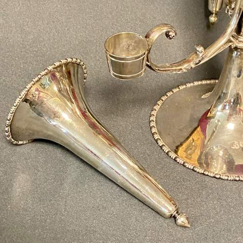 Early 20th Century Silver Epergne Table Centrepiece image-4