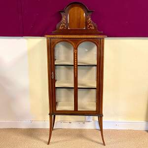 Late 19th Century Sheraton Revival Display Cabinet