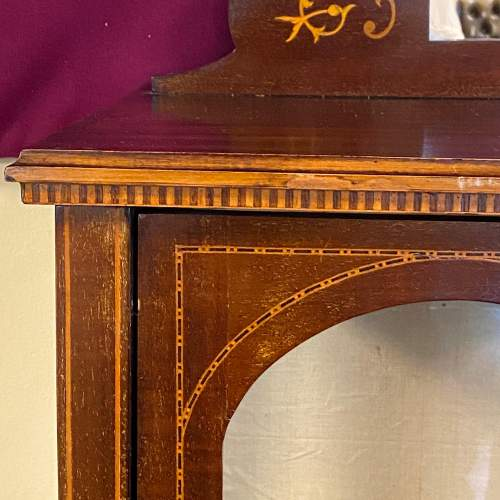 Late 19th Century Sheraton Revival Display Cabinet image-3