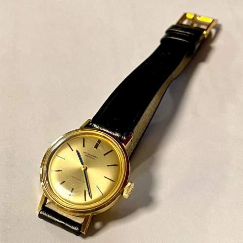 20th Century IWC Ladies 18ct Gold Watch image-1