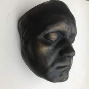 19th Century Beethovan Plaster Death Mask