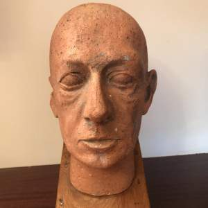 French Male Bust On Stand