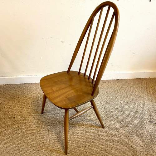 Ercol Golden Dawn Refectory Table and Four Dining Chairs image-5