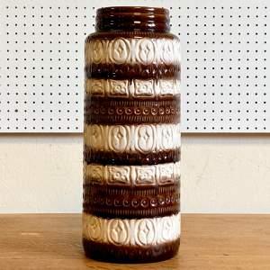 20th Century West German Pottery Floor Vase
