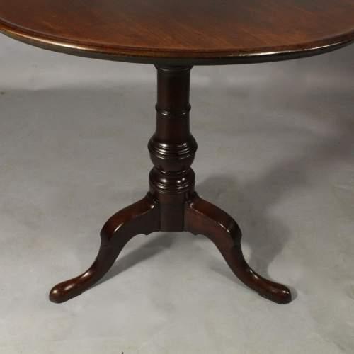 George III Mahogany Dish Top Table image-2