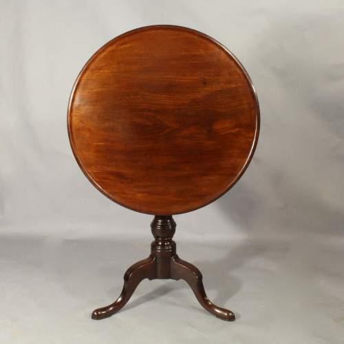 George III Mahogany Dish Top Table image-4