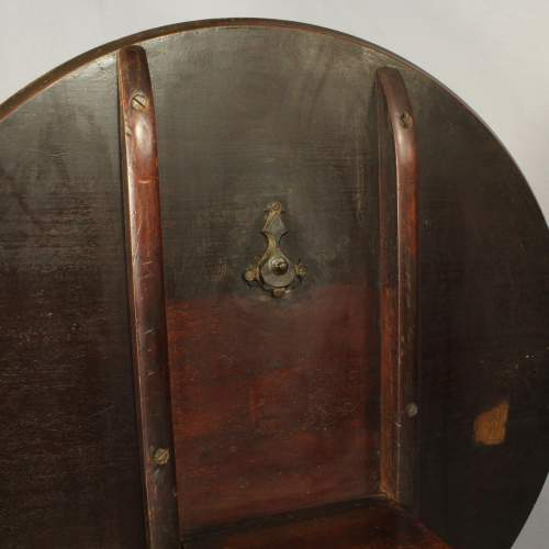 George III Mahogany Dish Top Table image-6