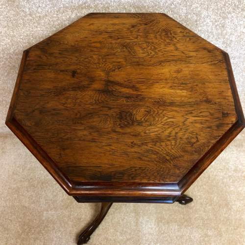 19th Century Rosewood Trumpet Work Table image-3