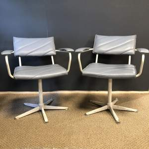Pair of Vintage Hair Salon Chairs