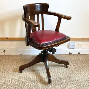 1920s Captains Office Chair