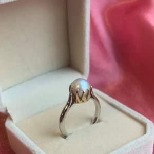 18ct White Gold Pearl Ring