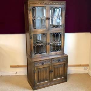 Vintage Old Charm Display Cabinet on Base