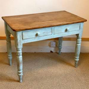 Victorian Painted Pine Farmhouse Table