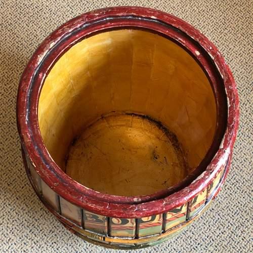 Bounty Mills Hand Painted Storage Barrel image-4
