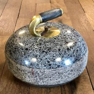 Scottish Granite Curling Stone