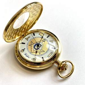 Woodford Masonic Pocket Watch