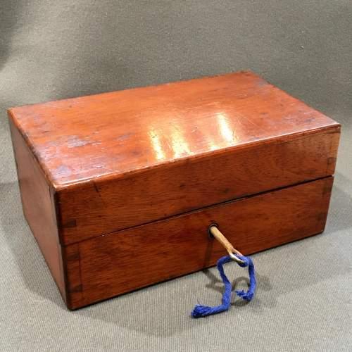 Late 19th Century Mahogany Homeopathy Box image-2