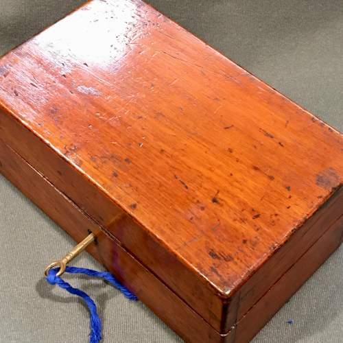 Late 19th Century Mahogany Homeopathy Box image-5