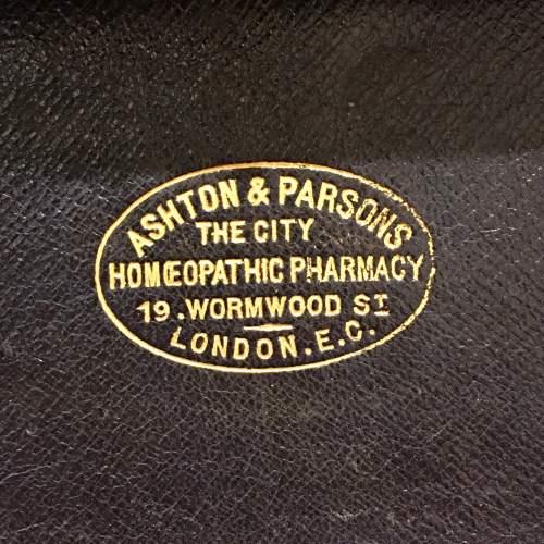 Late 19th Century Mahogany Homeopathy Box image-6