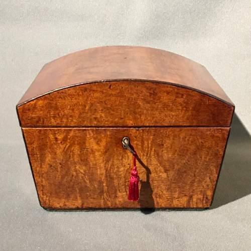 Regency Mahogany Jewellery Casket image-2