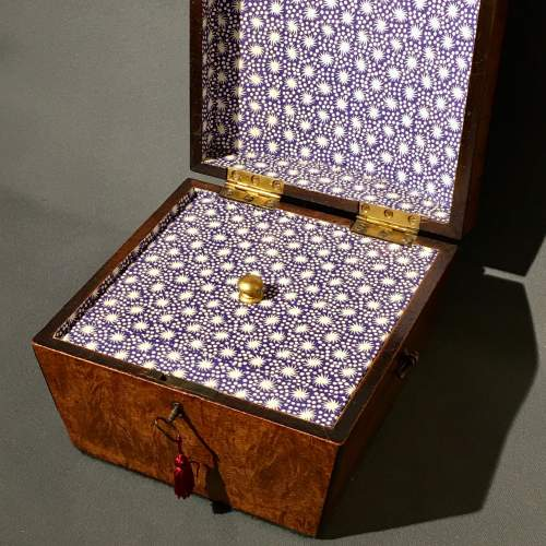 Regency Mahogany Jewellery Casket image-3