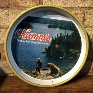 Vintage Hamms Beer Tray