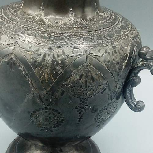 Early Pewter Pitcher image-4