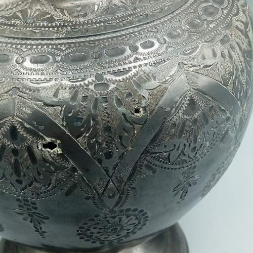Early Pewter Pitcher image-5