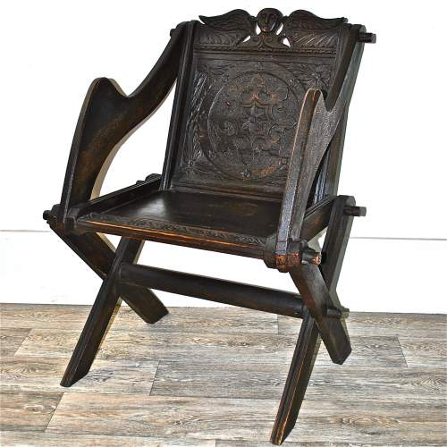 Victorian Glastonbury Chair image-1