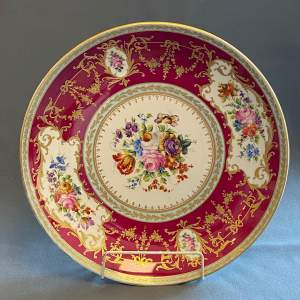 Large French Decorative Charger by le Tallec Paris France