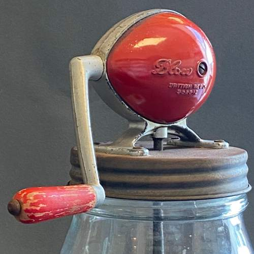 Blow English Vintage Glass Butter Churn image-3