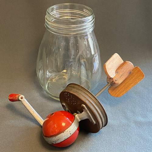 Blow English Vintage Glass Butter Churn image-6