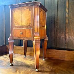 18th Century Inlaid Wine Cooler Cellarette