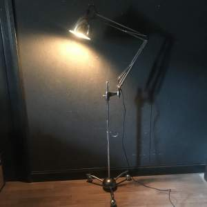 Early Herbert Terry 1209 Anglepoise Trolley Lamp - Restored