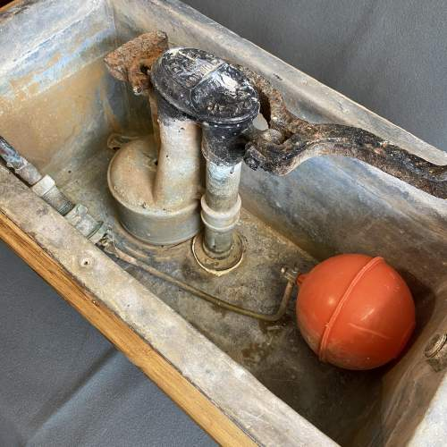 Japkop Pine Framed Toilet Cistern Circa 1910 image-3