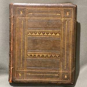 19th Century Leather Bound Book of Bunyans Works